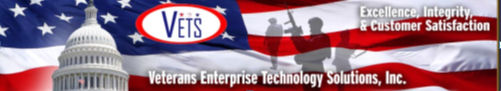 Data Analyst role from Veterans Enterprise Technology Solutions in Washington D.c., DC
