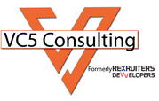 React, Node, Express Developers role from VC5 Consulting in Houston, TX