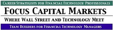 Electronic Trading UI Developer role from Focus Capital Markets in New York, NY