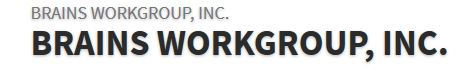 Frontend Software Engineer role from Brains Workgroup, Inc. in New York, NY