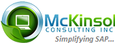 SAP SD Consultant role from McKinsol Consulting Inc in Mason, OH