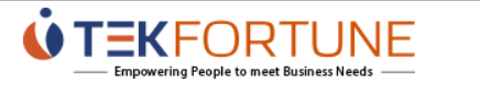 .NET Developer role from Tekfortune Inc. in Richmond, VA