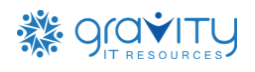 Security Analyst role from Gravity IT Resources in Miami, FL