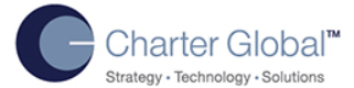 Pega CLSA role from Charter Global, Inc. in Summit, NJ