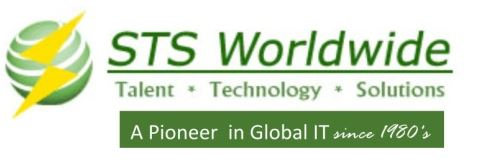 AWS Glue Python ETL Developer role from STS Worldwide Inc. in Owings Mills, MD