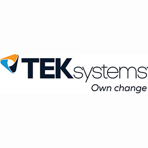 Senior C# Developer role from TEKsystems in Alexandria, VA
