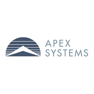 Full Stack Developer role from Apex Systems in Houston, TX